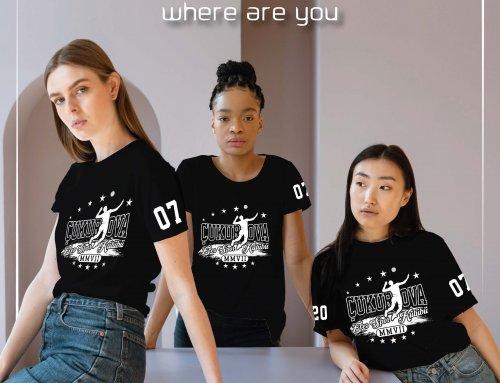 Çukurova Spor Kulübü Özel Tasarım Tişört